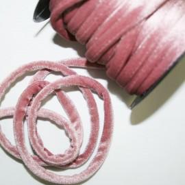 Cordón de terciopelo 5mm rosa vintage