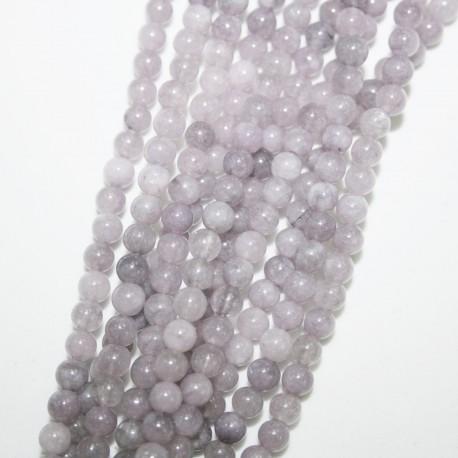 Piedra natural Ágata teñida lila
