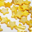 Estrella de madreperla amarillo