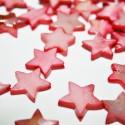 Estrella de madreperla rosa