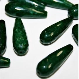 Lágrima de Ágata color verde
