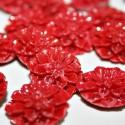 Flor Dalia rojo