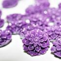 Flor Dalia en color violeta