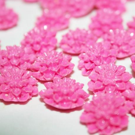 Flor Dalia color fucsia pequeña
