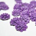 Flor Dalia color violeta pequeña