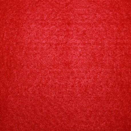 Fieltro grueso plancha roja 50x50cm