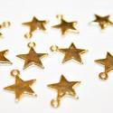 Estrella mini dorada