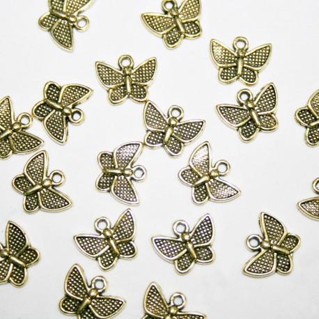Mariposa mini dorada BOLSA DE 20 UNIDADES