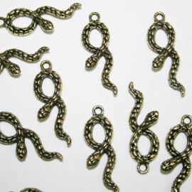 Serpiente dorada BOLSA 20 UNIDADES