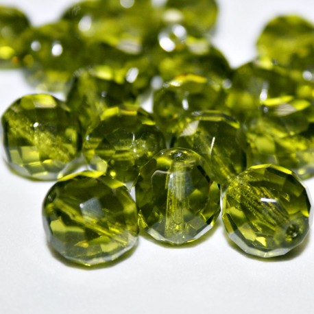 Facetada Checa 14mm verde oliva