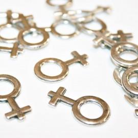 Símbolo femenino mediano