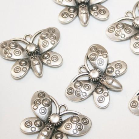 Mariposa c/círculos (zamak)