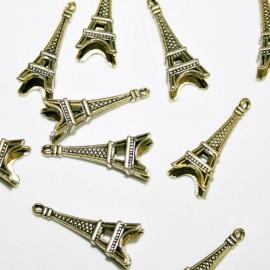 Torre Eiffel dorada BOLSA 10 UNIDADES
