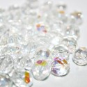 Facetada Checa 10mm cristal AB