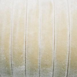 Terciopelo ELASTICO crema