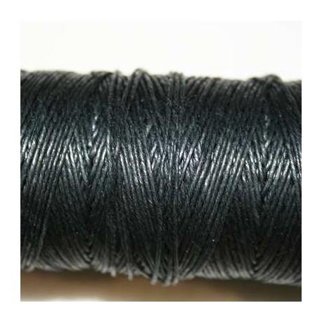 Hilo algodón rústico negro 0.5mm