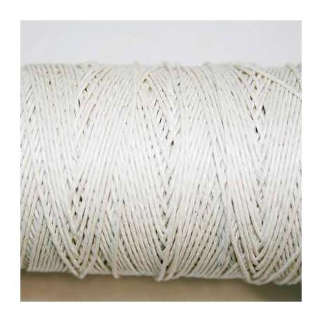 Hilo algodón rústico 0.5mm crema