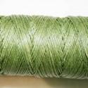 Hilo algodón rústicoverde oscuro  0.5mm