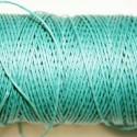 Hilo algodón rústico turquesa verdoso 0.5mm