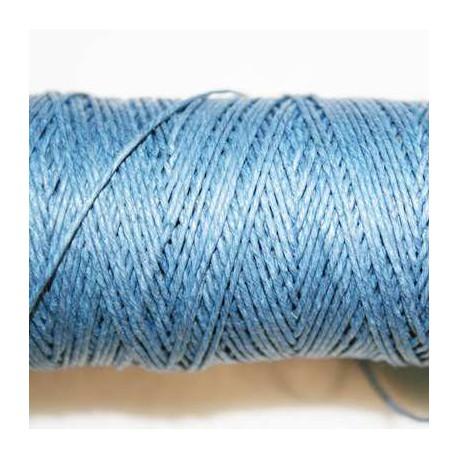 Hilo algodón rústico 0.5mm azul oscuro