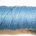 Hilo algodón rústico azul oscuro 0.5mm