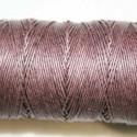Hilo algodón rústico marrón 0.5mm