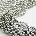 Cadena de bolas acero de 1mm