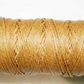 Hilo algodón rústico 0.5mm marrón claro