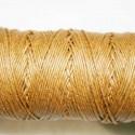 Hilo algodón rústico marrón claro 0.5mm