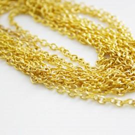 Cadena de 2mm dorada