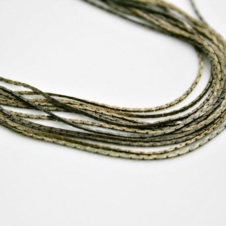 Hilo cuadrado bronce de 1mm