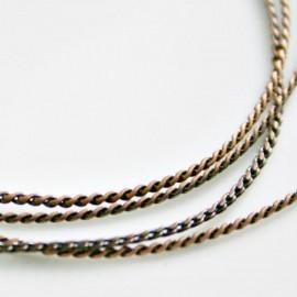 Cadena redonda cobre de 1mm