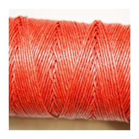 Hilo algodón rústico 0.5mm rojo