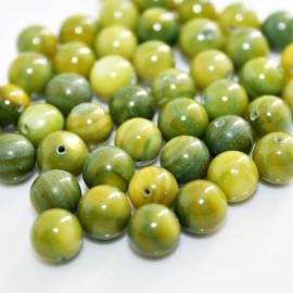 Bola madreperla color verde pistacho