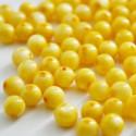 Bola madreperla color amarillo