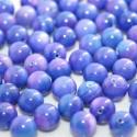 Bola madreperla color azul violaceo