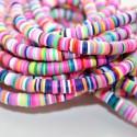 Tira de gomitas de 6mm multicolor