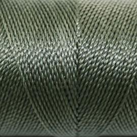 Hilo poliester verde musgo x 5 metros