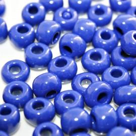 Cristal paso de 2,5mm bolsa de 20 unidades azul