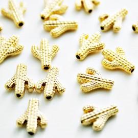 Cactus baño de oro mate