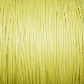 Hilo algodón amarillo claro