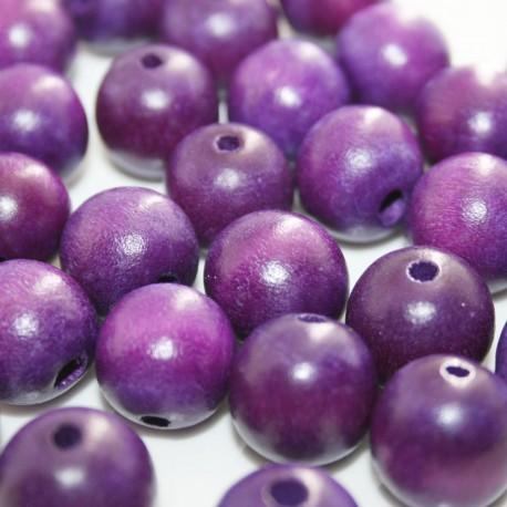 Bola madera violeta 10mm
