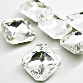 Cabujon cristal 23x23mm