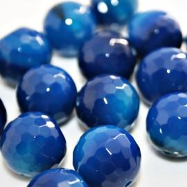 Ágata azul de 14mm