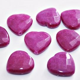 Corazón Jade teñido