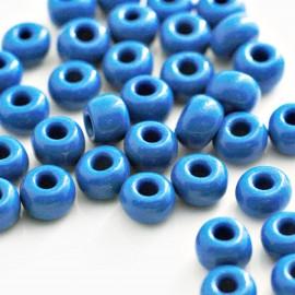 Cristal paso 2,5mm bolsa de 20 unidades azul medio