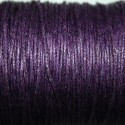 Hilo algodón violeta oscuro 1mm