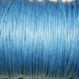 Hilo algodón azul