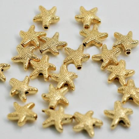 Estrella de mar baño de oro mate