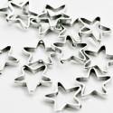 Estrella calada mediana con pase de 1mm